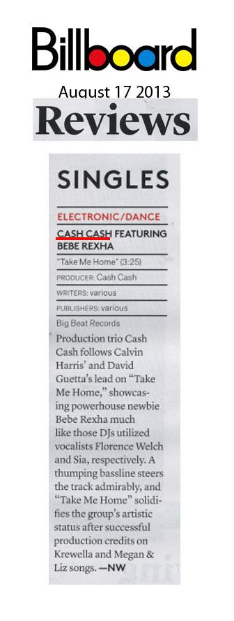 Cash Cash - Billboard - August 17 2013