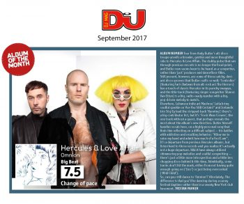 Hercules & Love Affair - DJ Mag - September 2017
